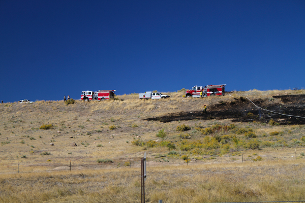 West Metro Highway 285 Brush Fire - 5280Fire