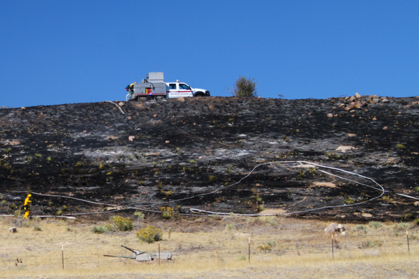 West Metro Highway 285 Brush Fire - 5280Fire