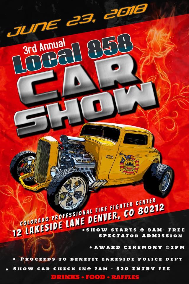 Denver Local Car Show Fire - Classic car show denver