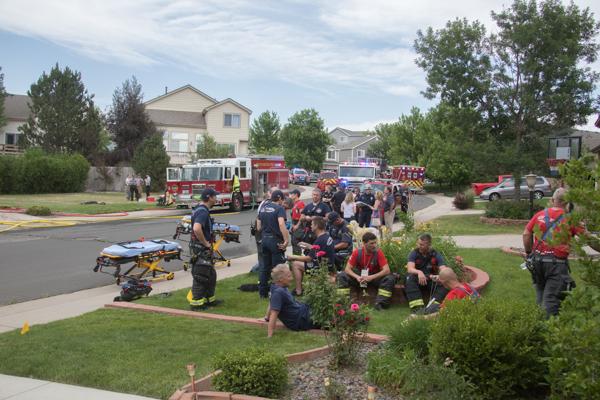 Centennial Powers Place House Fire - 5280Fire