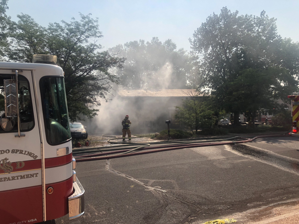 Colorado Springs Potter Drive Structure Fire - 5280Fire