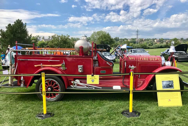 Firefighters Car