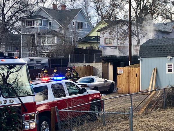 Colorado Springs East Kiowa Ave Garage Fire - 5280Fire