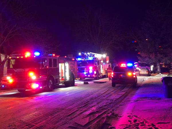 Colorado Springs Roosevelt Street Structure Fire - 5280Fire