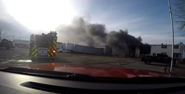 Greeley 2nd Alarm Commercial Building Fire