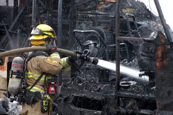 Colorado Springs Motor Home Fire - 5280Fire